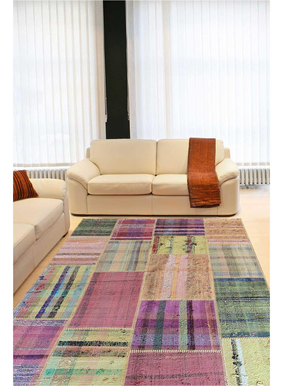 tapis pour tr s grand salon retro patchwork r tapis. Black Bedroom Furniture Sets. Home Design Ideas
