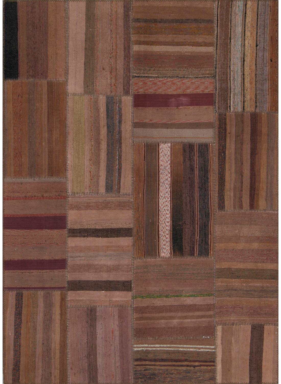 tapis retro patchwork rose tapis naturel par unamourdetapis ebay. Black Bedroom Furniture Sets. Home Design Ideas