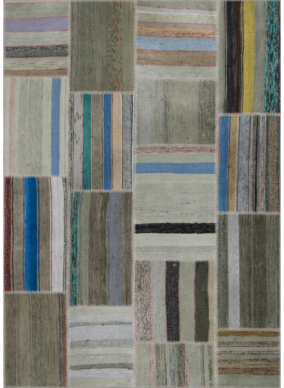 tapis retro patchwork tapis naturel par unamourdetapis ebay. Black Bedroom Furniture Sets. Home Design Ideas