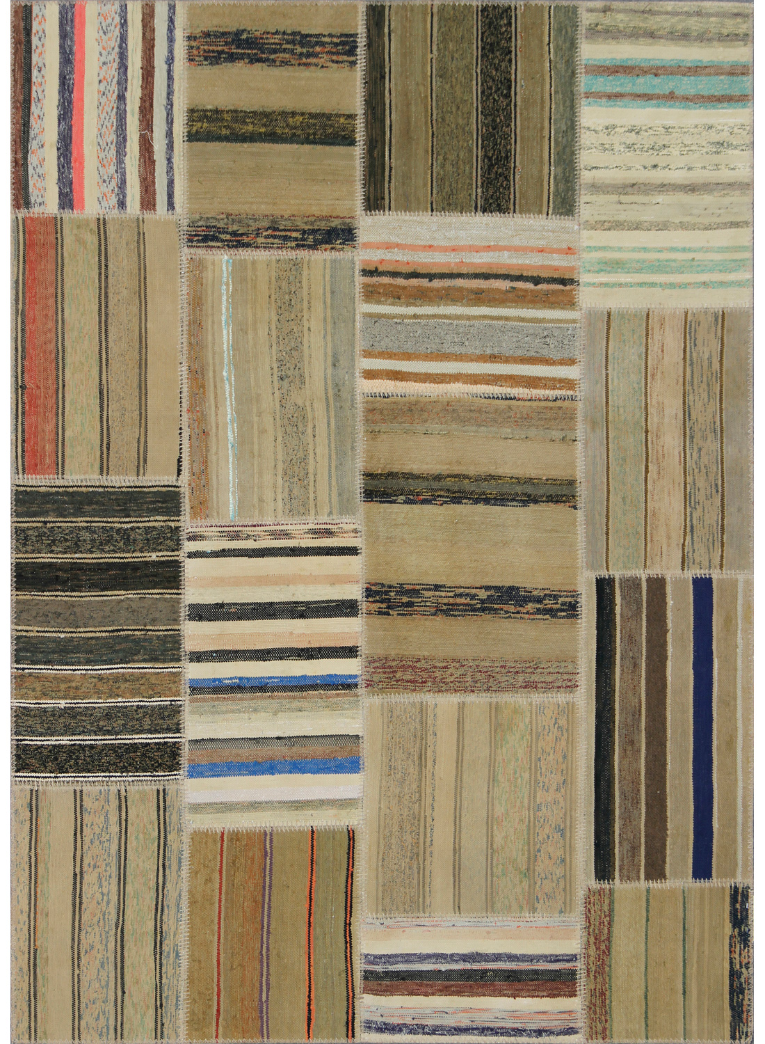 tapis moderne pour tr s grand salon retro patchwork 1. Black Bedroom Furniture Sets. Home Design Ideas