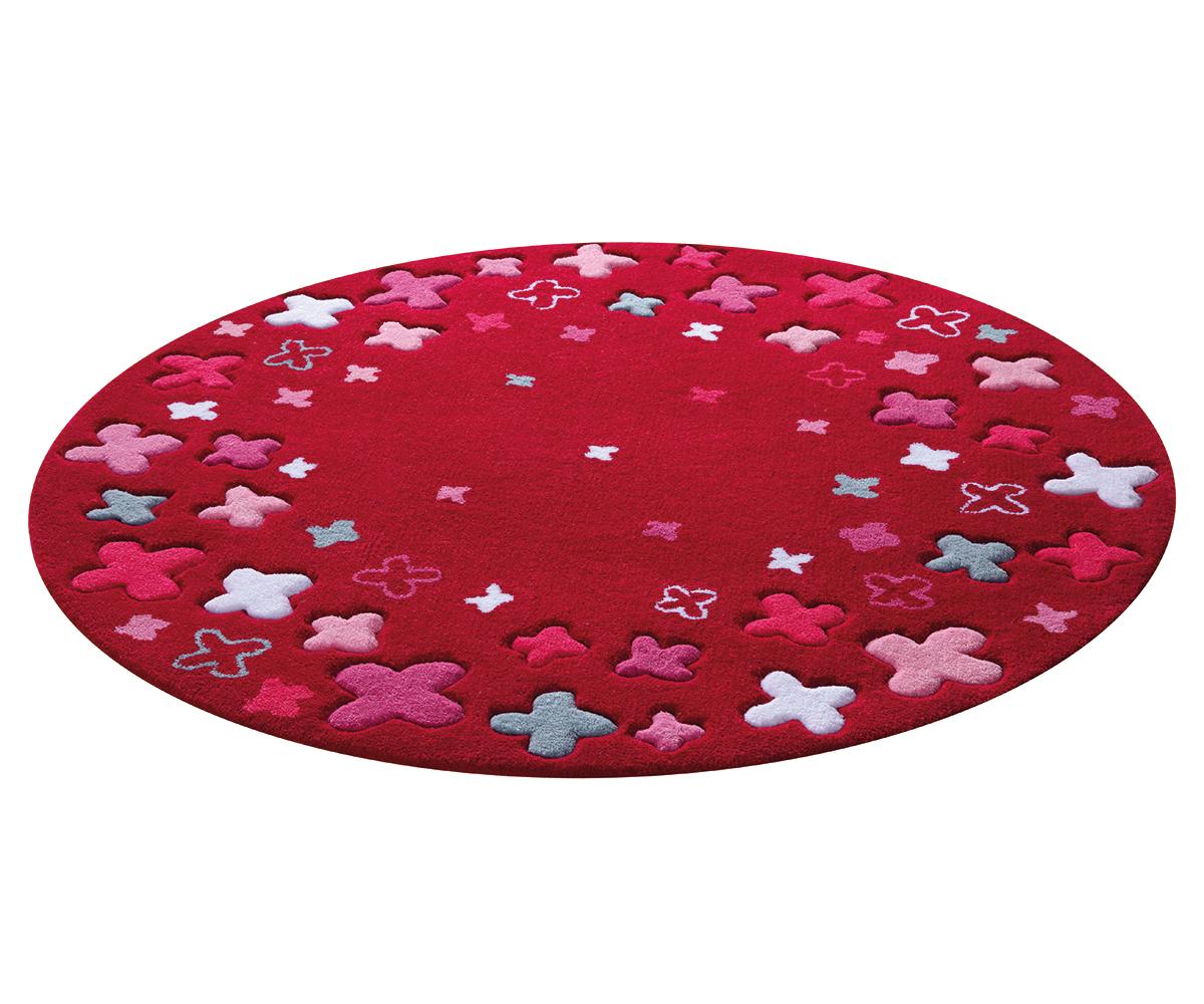 Tapis Rond Chambre Enfant Bloom Field En Acrylique Par Esprit Tapis Pour Enfan Ebay
