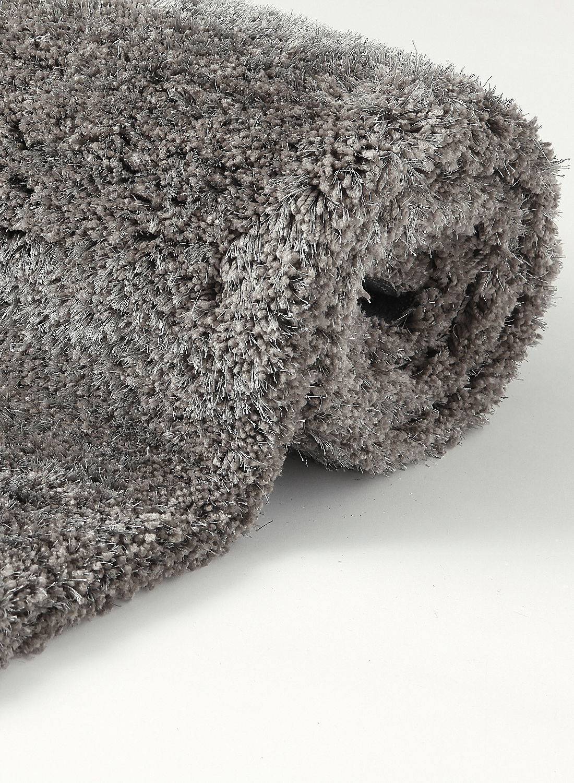 Ebay - Tapis shaggy gris 200x290 ...