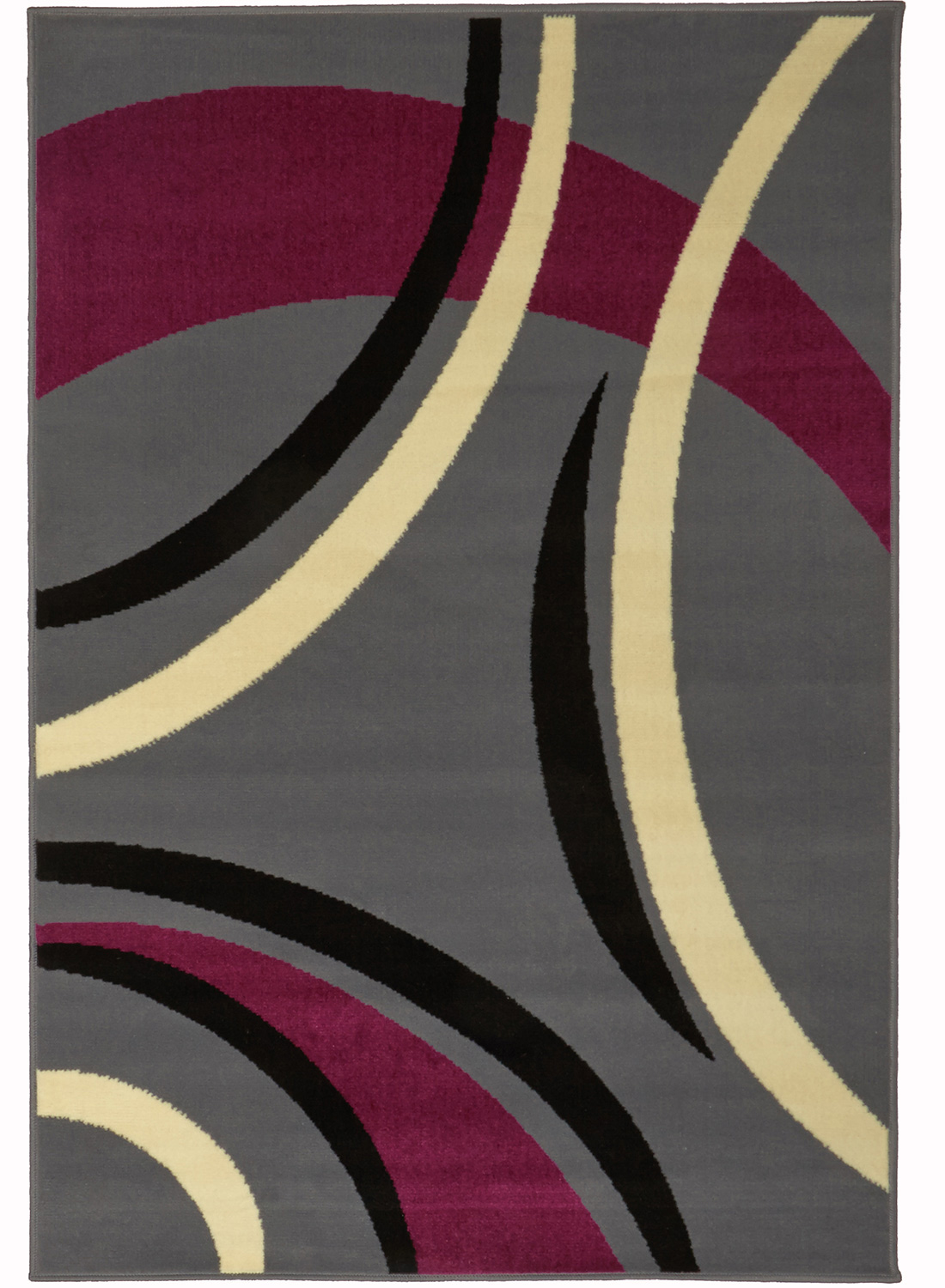 tapis moderne pour salon platino tapis moderne par dezenco. Black Bedroom Furniture Sets. Home Design Ideas