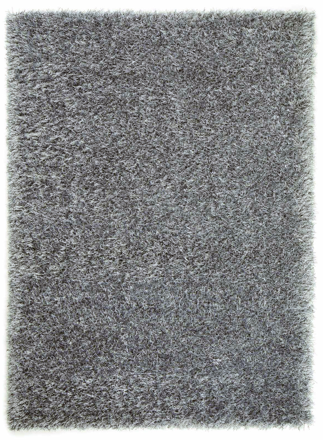 tapis de salon shaggy feeling gris 140x200 en. Black Bedroom Furniture Sets. Home Design Ideas