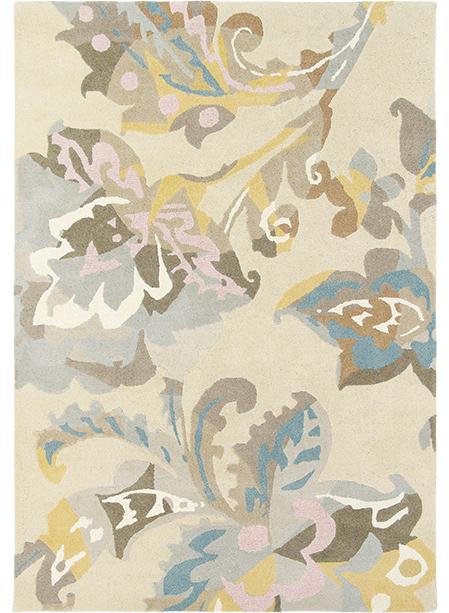 Tapis salon de qualite motif fleuri kimono tapis moderne par impalo ebay - Tapis de salon a vendre ...