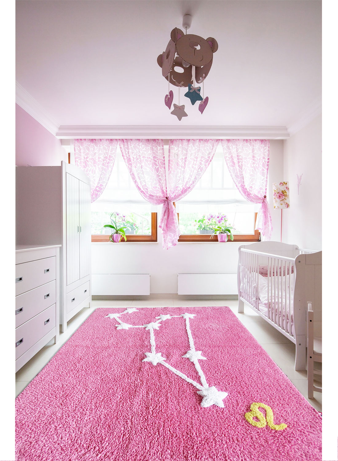 Lion guide d 39 achat for Tapis chambre rose