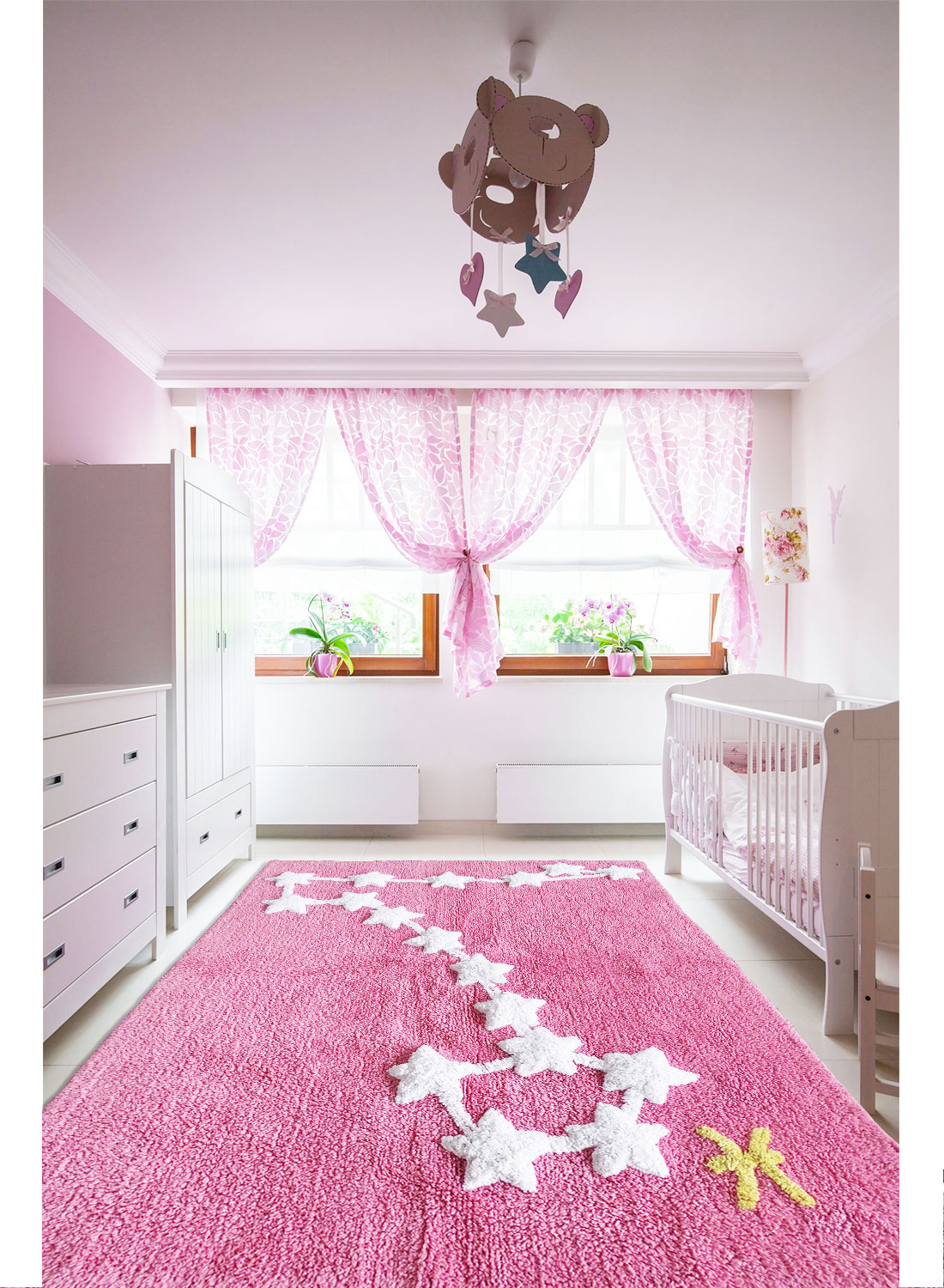 tapis chambre enfant constellation poisson tapis enfants par unamourdetapis. Black Bedroom Furniture Sets. Home Design Ideas