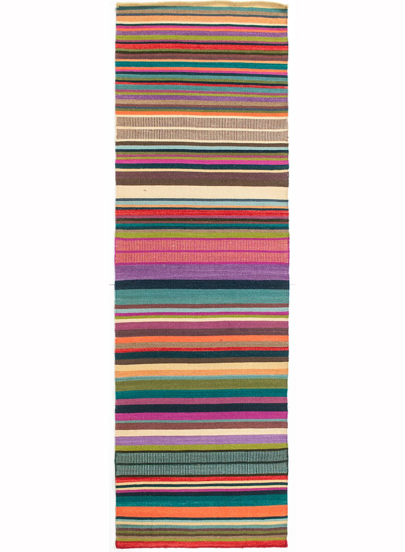 tapis couloir kilim feel design en laine par linie design tapis moderne ebay. Black Bedroom Furniture Sets. Home Design Ideas