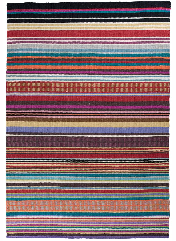 Tapis couloir kilim feel design en laine par unamourdetapis tapis moderne ebay Tapis moderne design