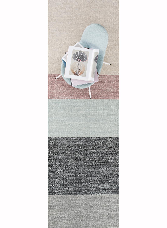 tapis kilim pour couloir poraka en laine par linie design tapis moderne ebay. Black Bedroom Furniture Sets. Home Design Ideas