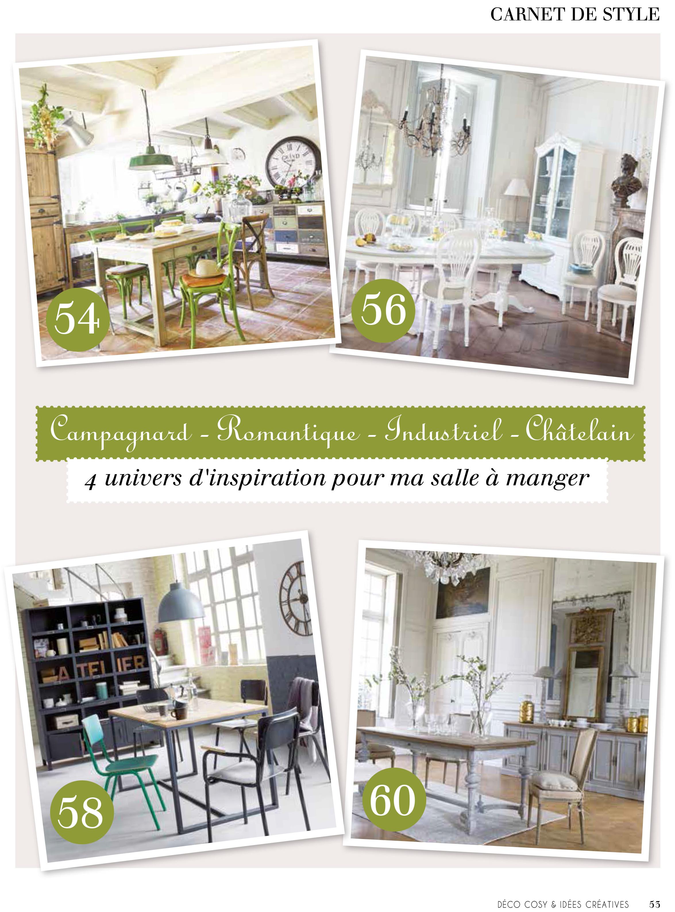 Deco Maison Cosy. Stunning Fminin Et Raffin Le Chalet ...