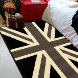 BC UNION JACK BLACK AND WITHE